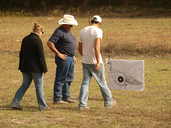 The Thankgiving Turkeyt Shoot at Blisswood Ranch