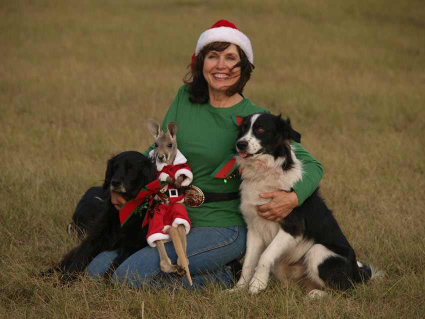 Happy Holidays from Blisswood, Your Texas Bed and Breakfast