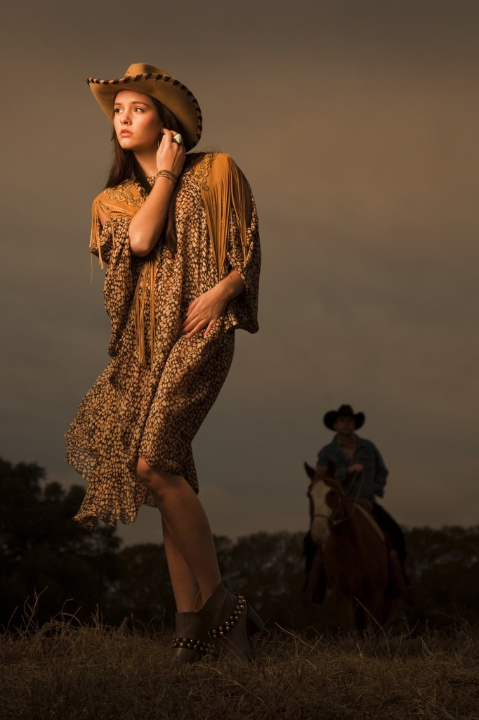 The Houston Chronicle Photo Shoot at our Texas Guest Ranch