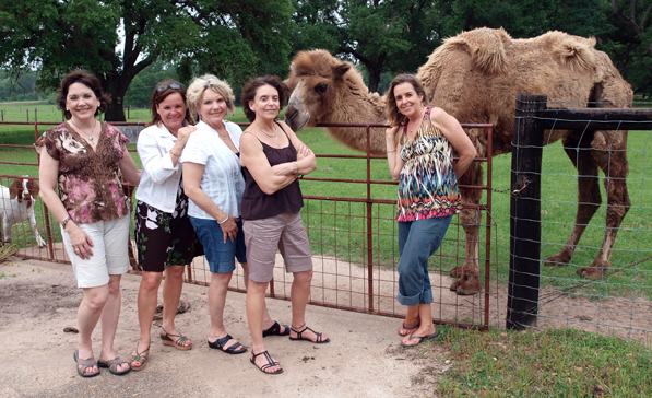 A Family Heritage Trips Stops at our Cat Spring Texas Guest Ranch