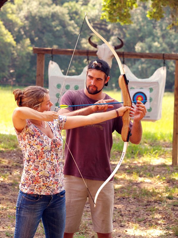 Archery at our Texas Bed and Breakfast