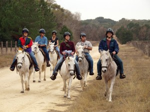 BlissWood Crew Enjoys Horseback Ride