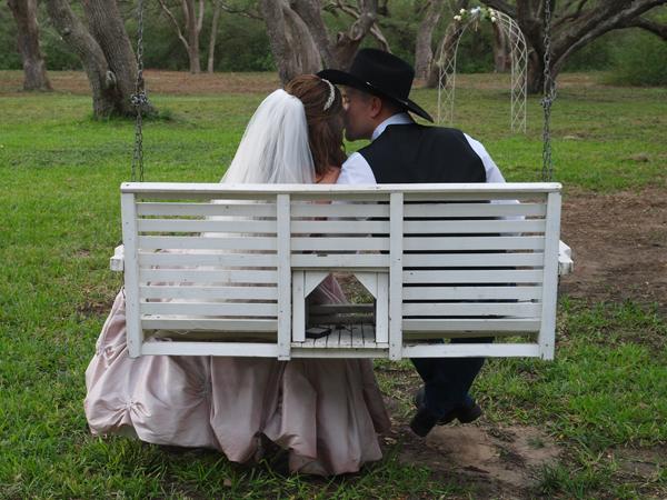 Texas Ranch Wedding in the Rain
