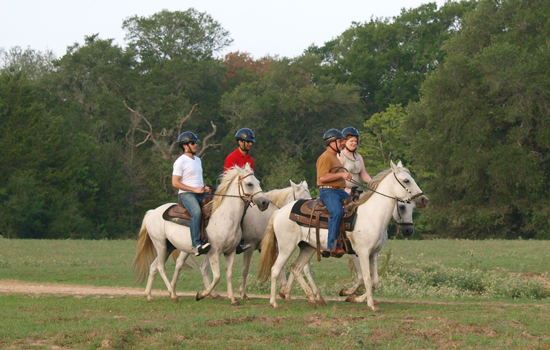 Horseback riding trip in Texas Hill Country