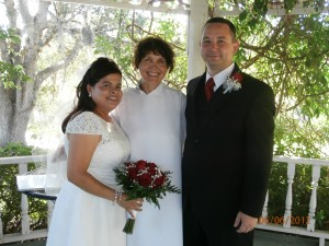 Happy Couple Enjoys an Elopement Wedding at my Texas Bed and Breakfast