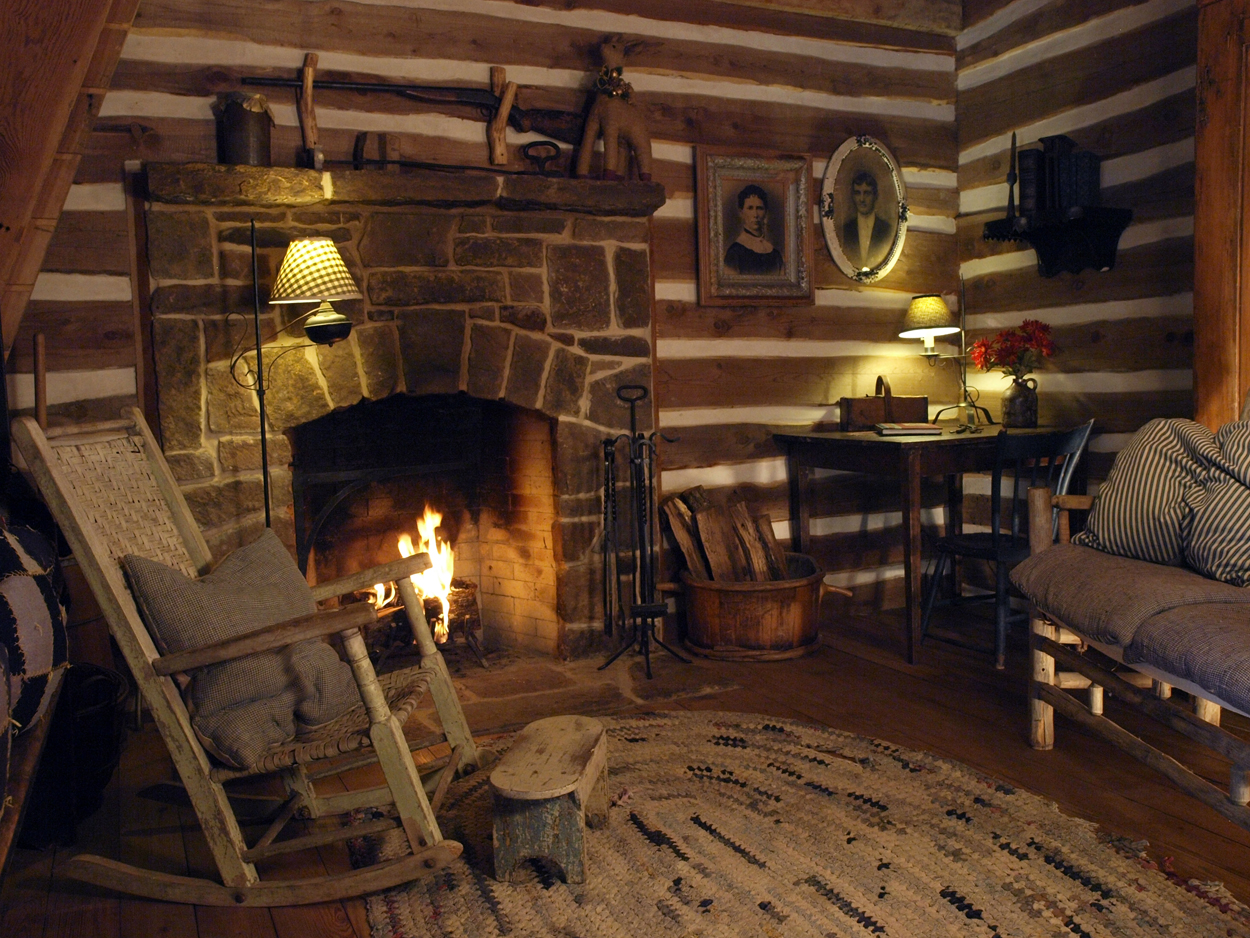 Reviews of blisswood earn a tripadvisor certificate of for Log cabin fireplaces pictures