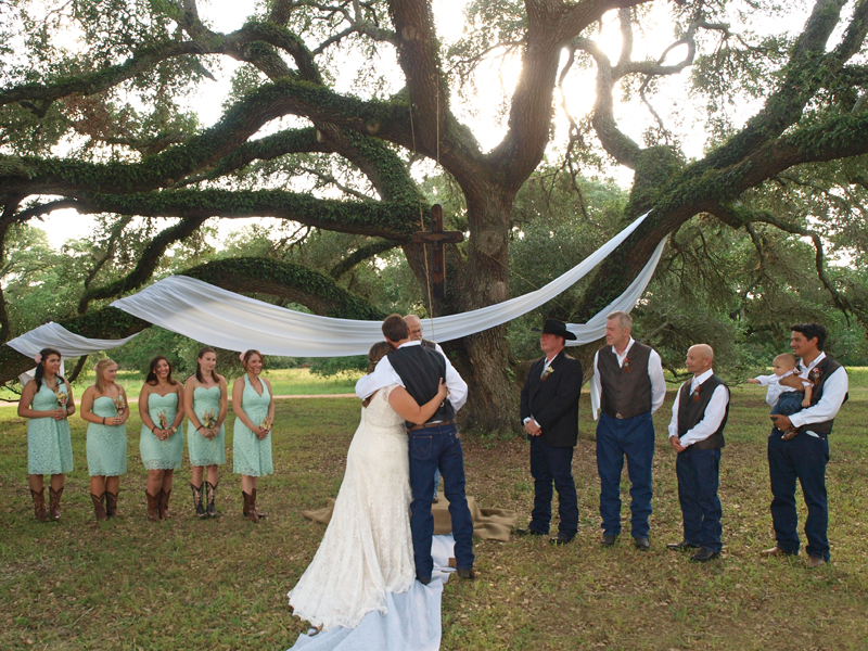 western themed weddings in Texas