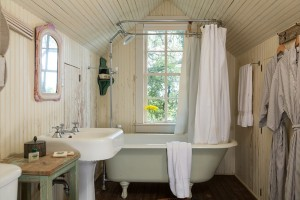 Bath in a Texas Vacation Home