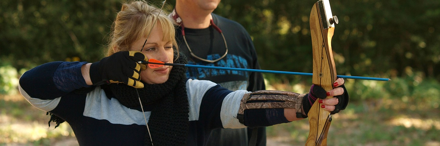 Archery and fun outdoor activities
