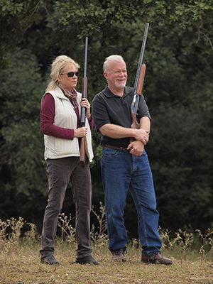 Corporate Retreats near Houston - Skeet Shooting