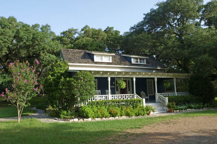 The Lehmann house at BlissWood B&B Ranch