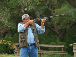 A Man Trap Shooting