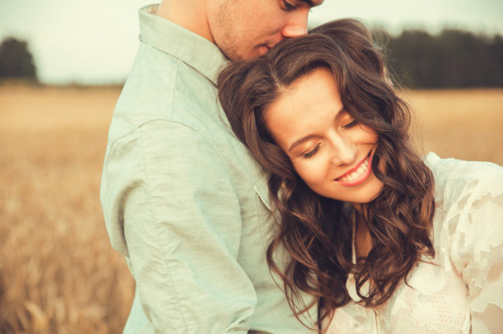Couple on a Romantic Getaway at BlissWood Bed and Breakfast Ranch