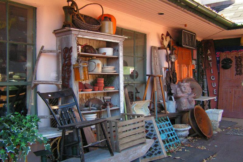 Texas Antique Shopping