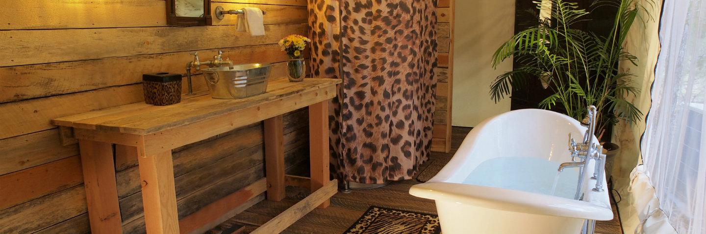 Grand Safari Tent Bathroom