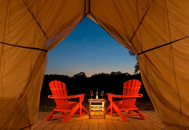 Glamping in Texas - Canvas Tent on a Ranch near Houston