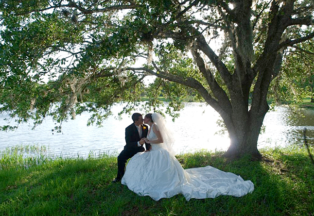 Texas Ranch Lake Wedding