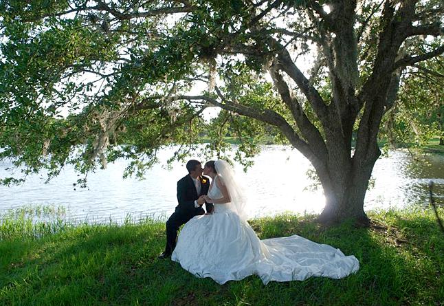 Texas Ranch Lake Wedding