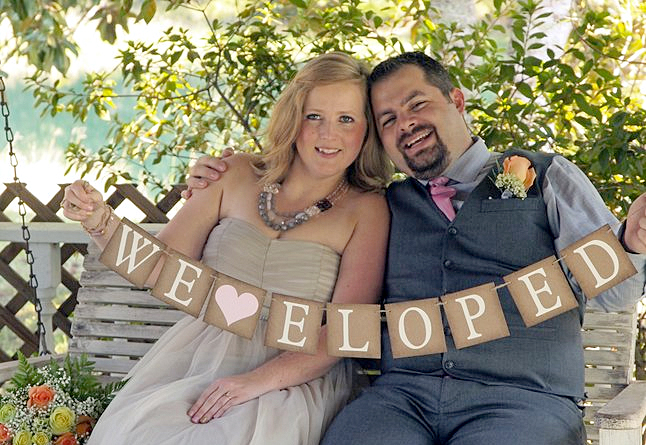 Eloping in Texas Couple