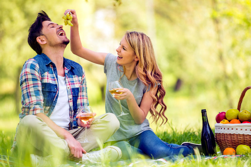 Romantic Picnic for Two at BlissWood Bed and Breakfast Ranch