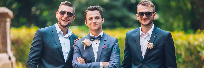 Groomsmen at a TX wedding