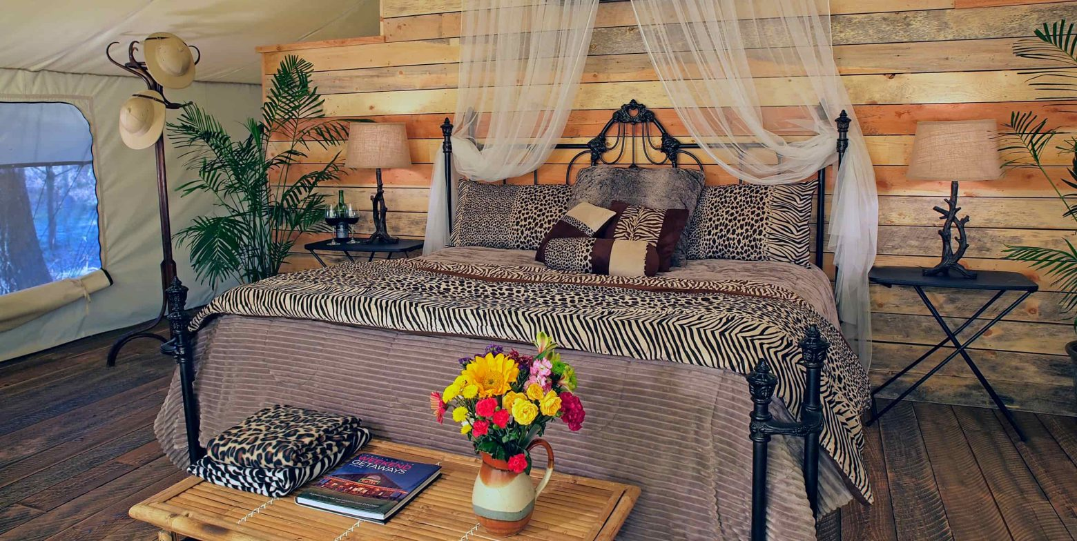Safari Tent bed