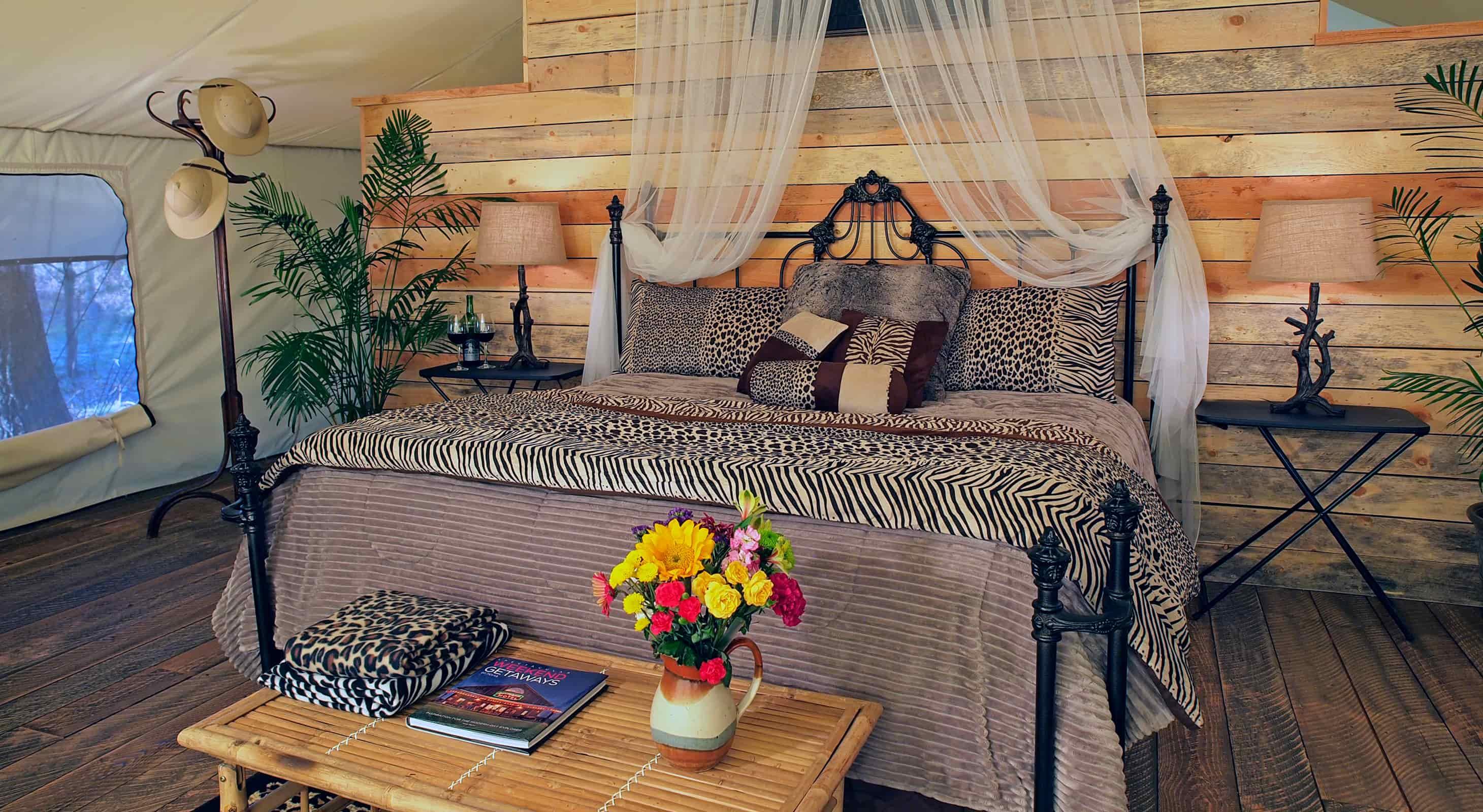 Safari Tent bed