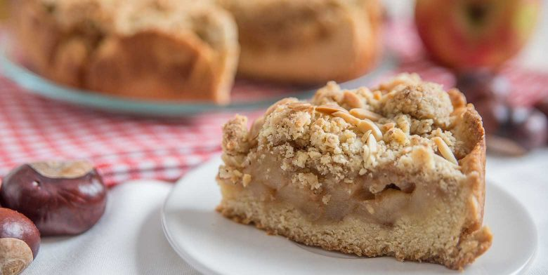 Streusel Apple Pie