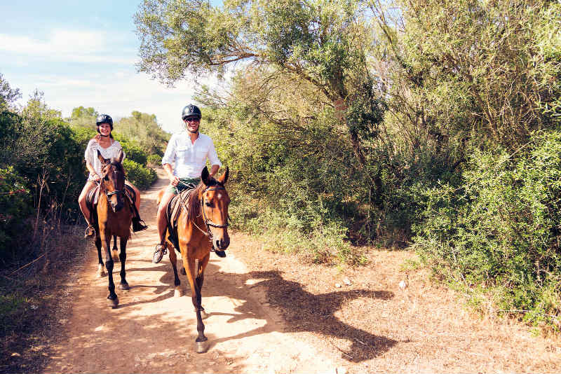 Horseback Riding on Texas Family Reunion