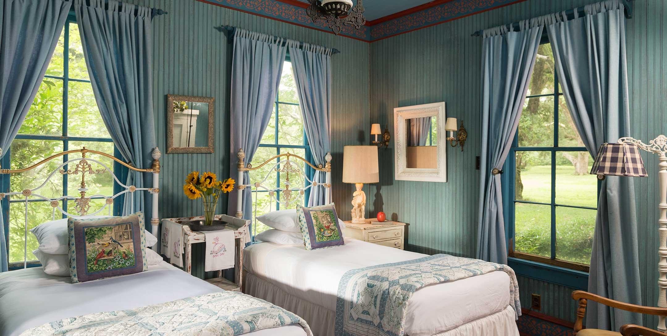 Lehmann House bedroom
