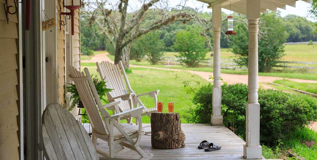 Dog Trot House porch