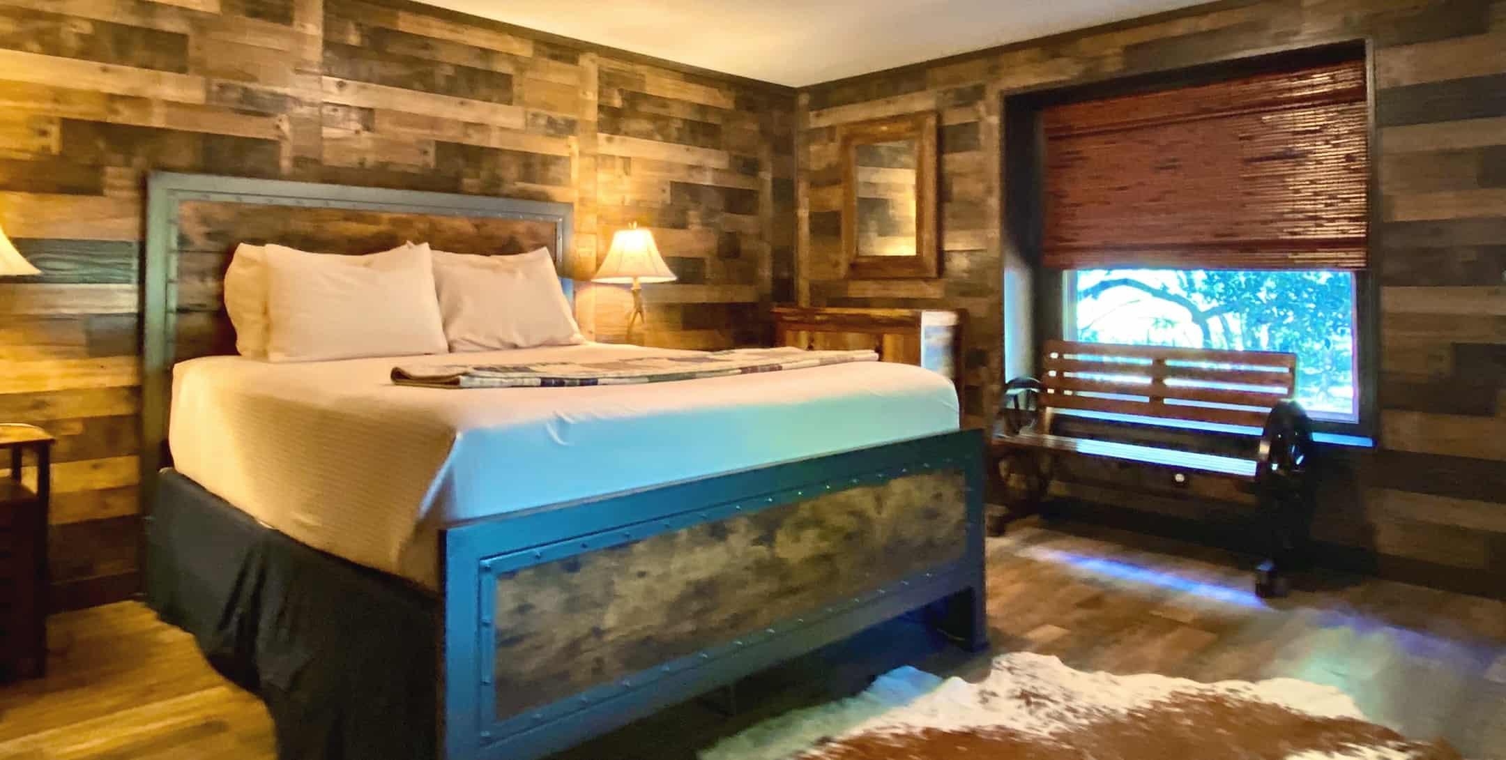 Hideaway Cabin bedroom