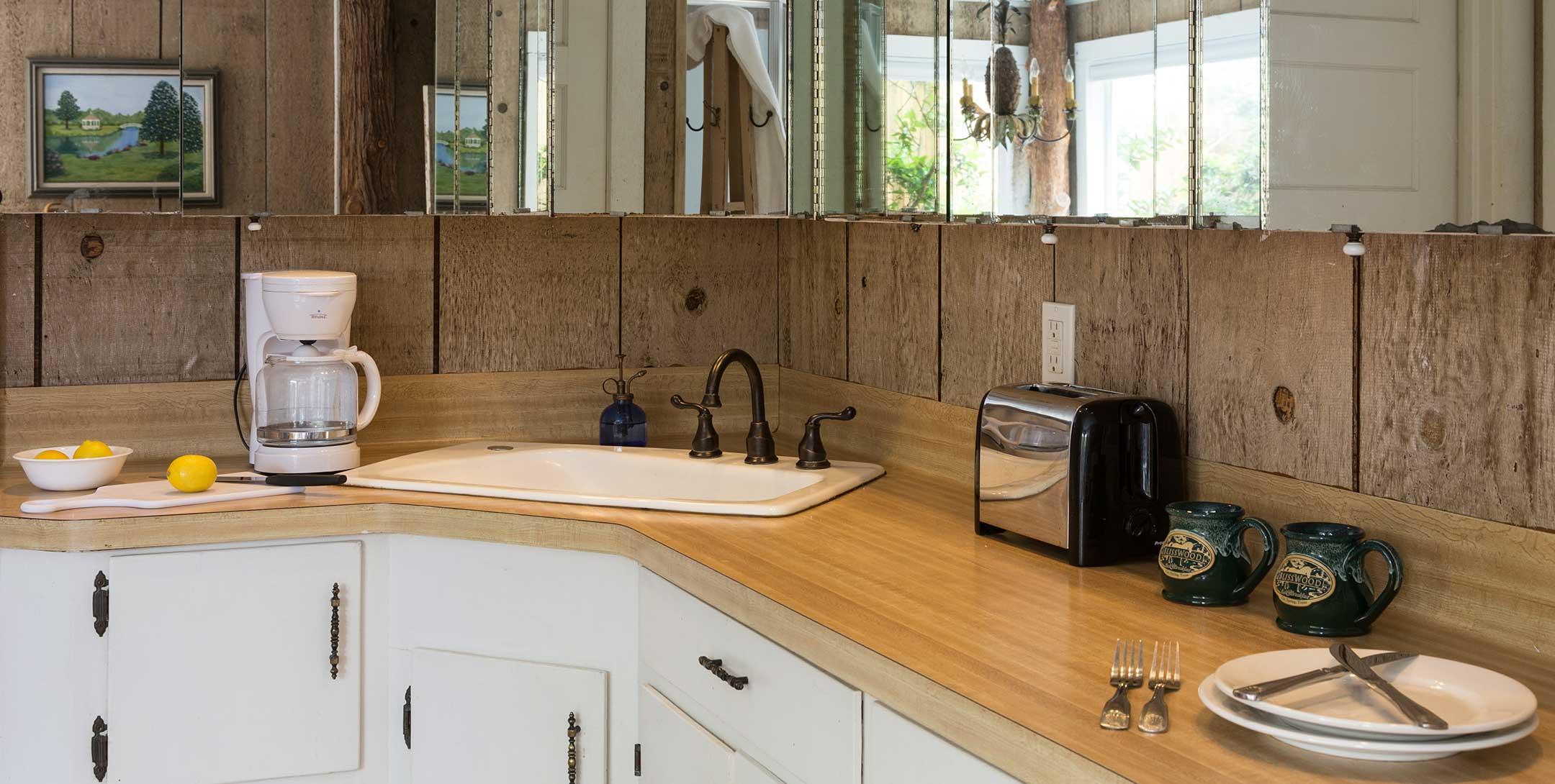 Dog Trot House Magnolia Suite kitchen