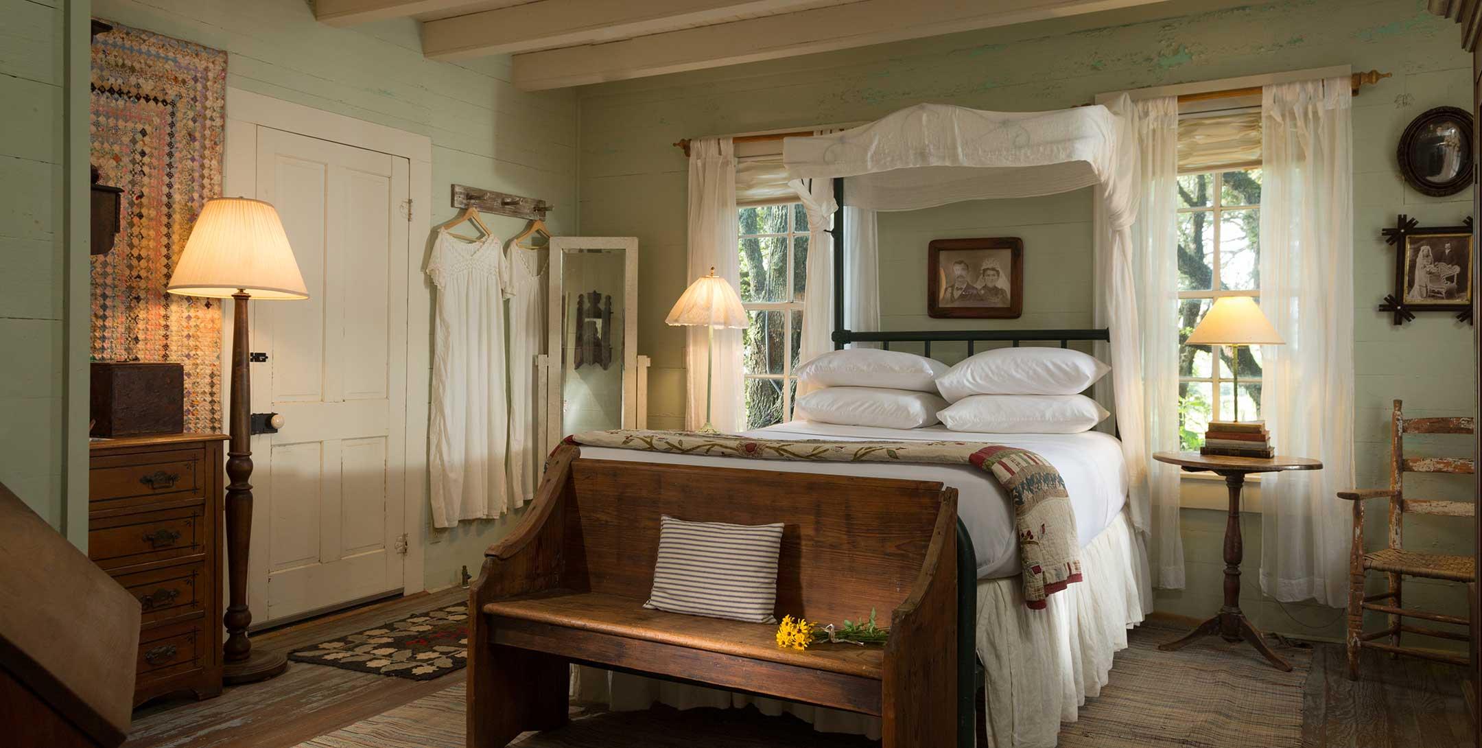 Texas Farm House bedroom