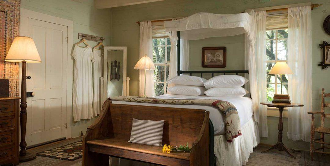 The Texas Farm House bedroom