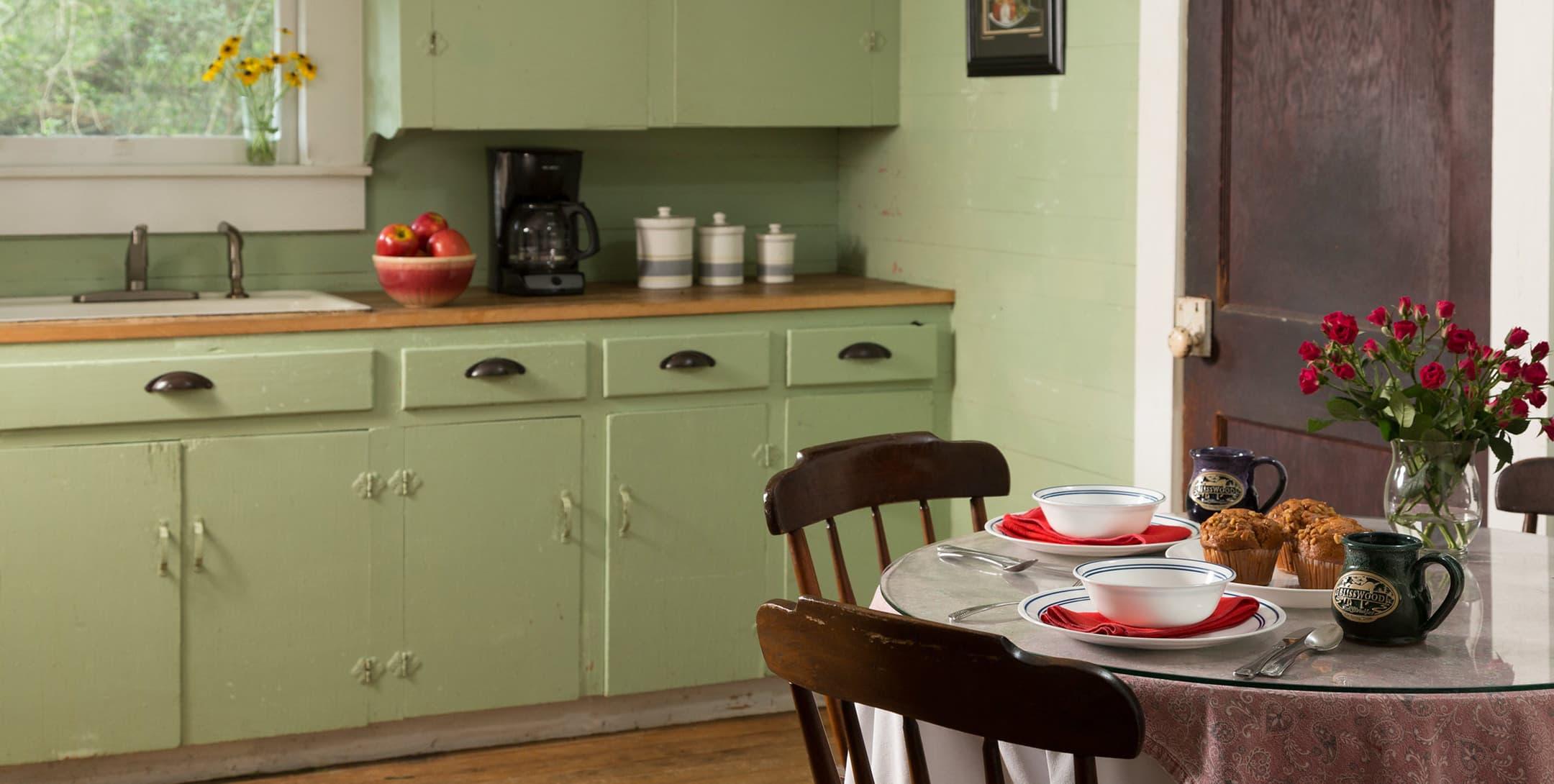 Bluebonnet Bungalow kitchen