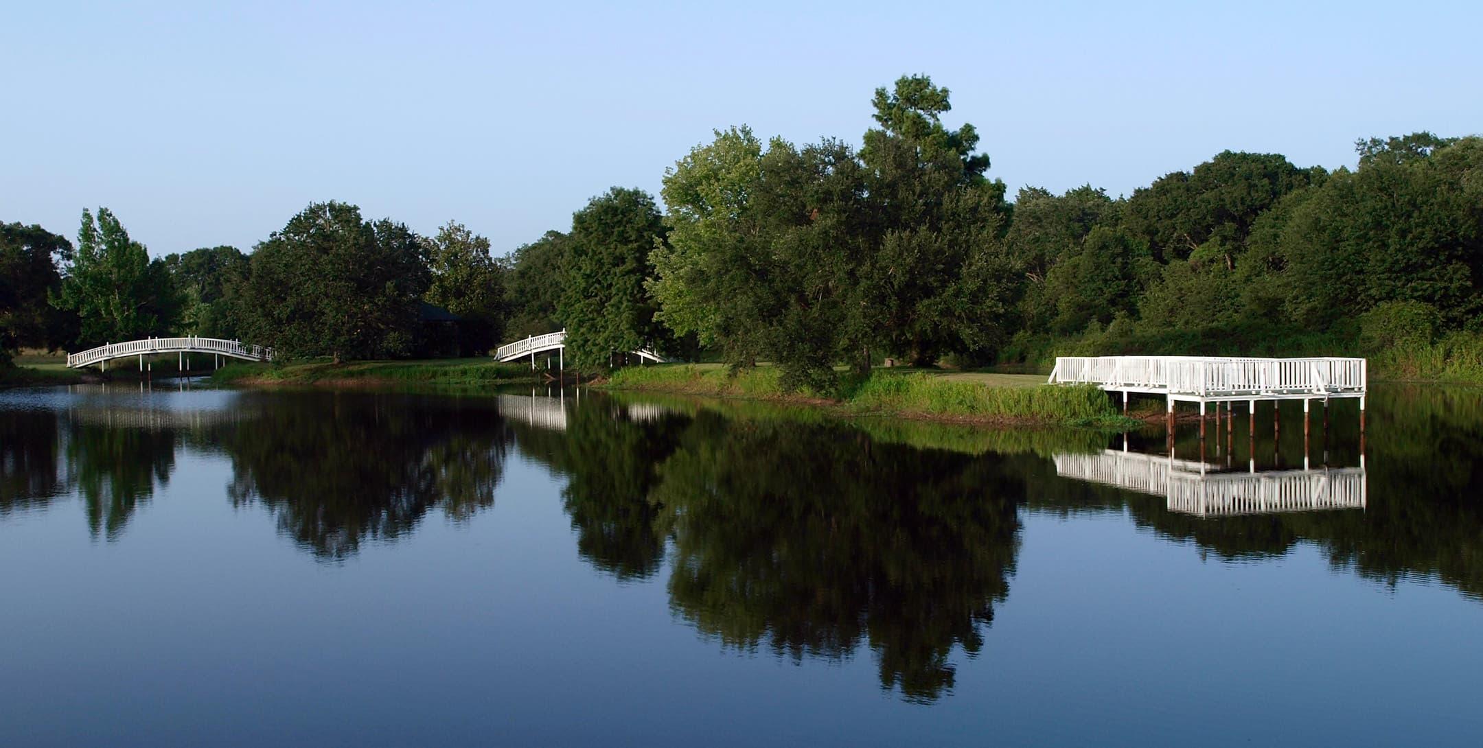 Bridges at the Enchanted Lake