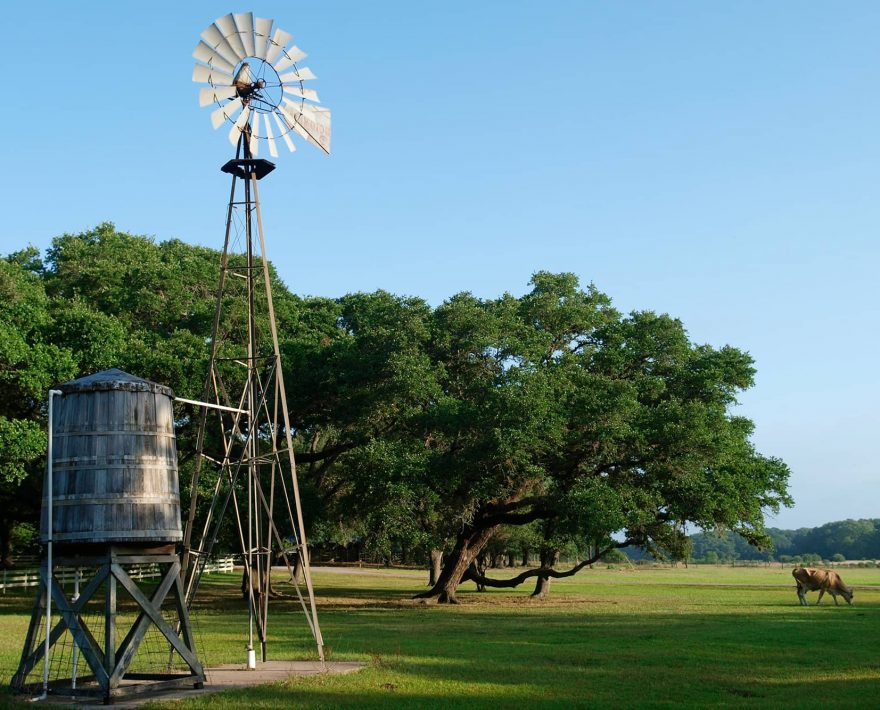 Windmill at BlissWood Bed and Breakfast Ranch