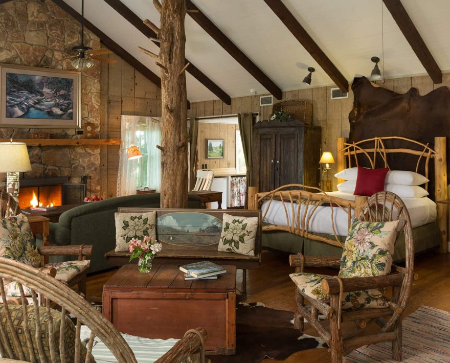 The Magnolia Suite in the Dog Trot House