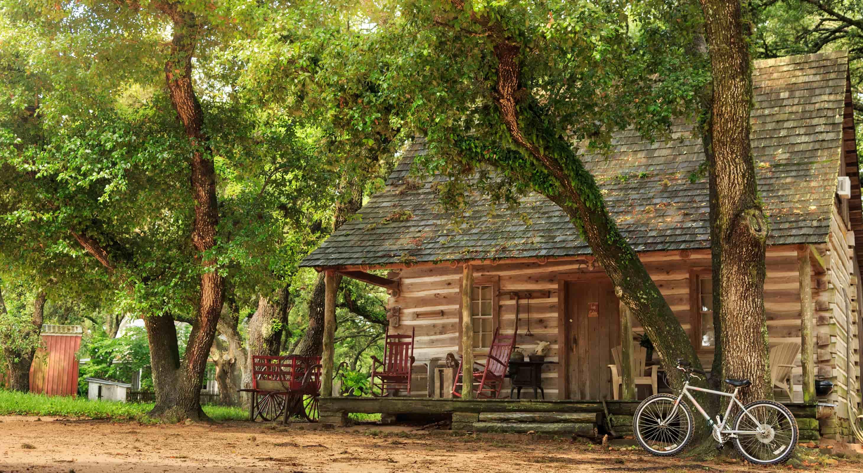 Log Cabin, romantic getaways in texas