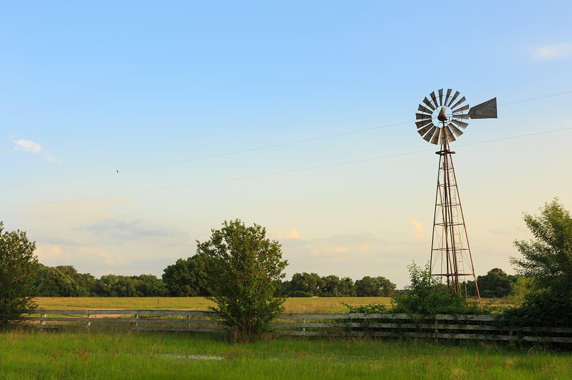 Windmill at the ranch