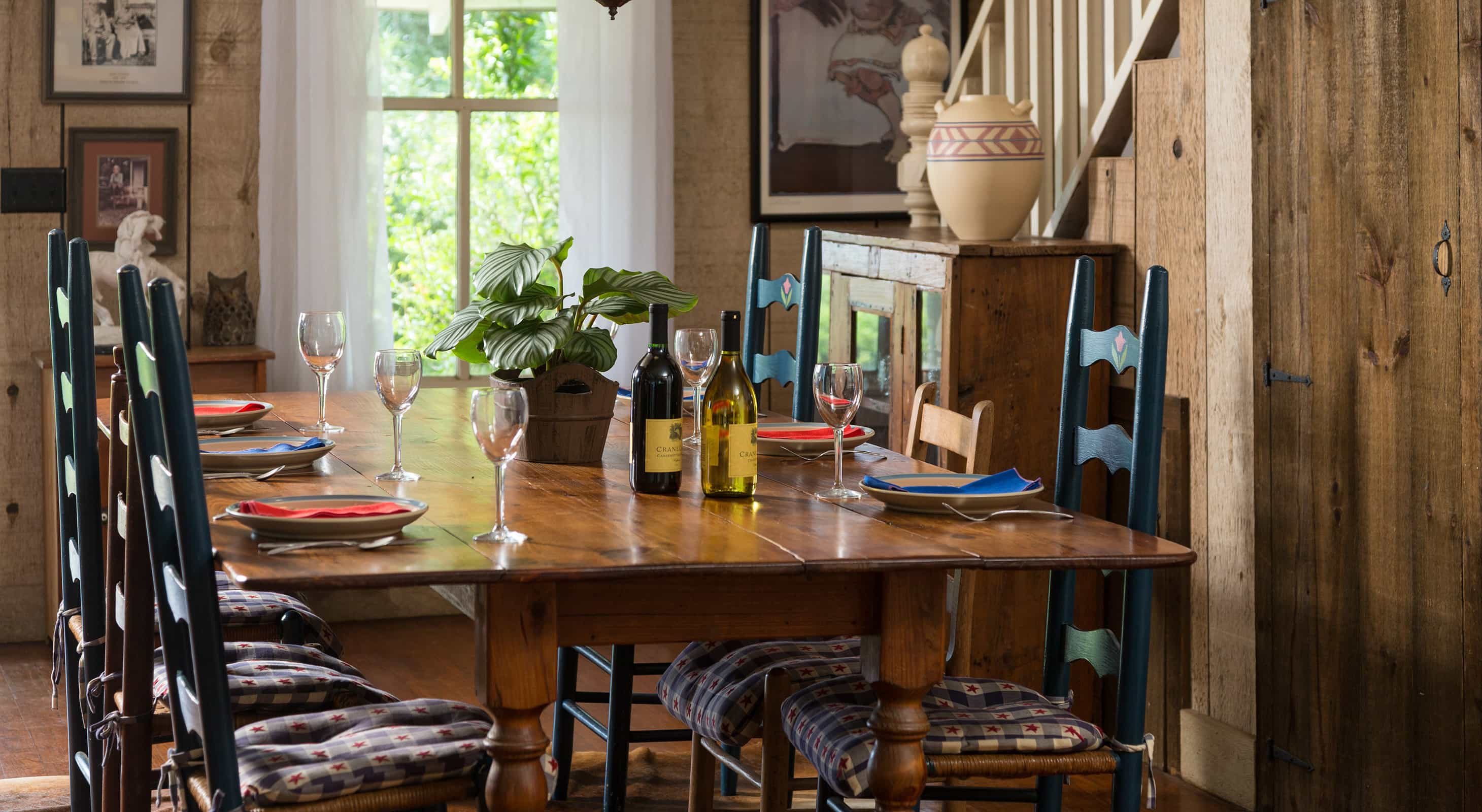 Dining Table at our Ranch in Texas