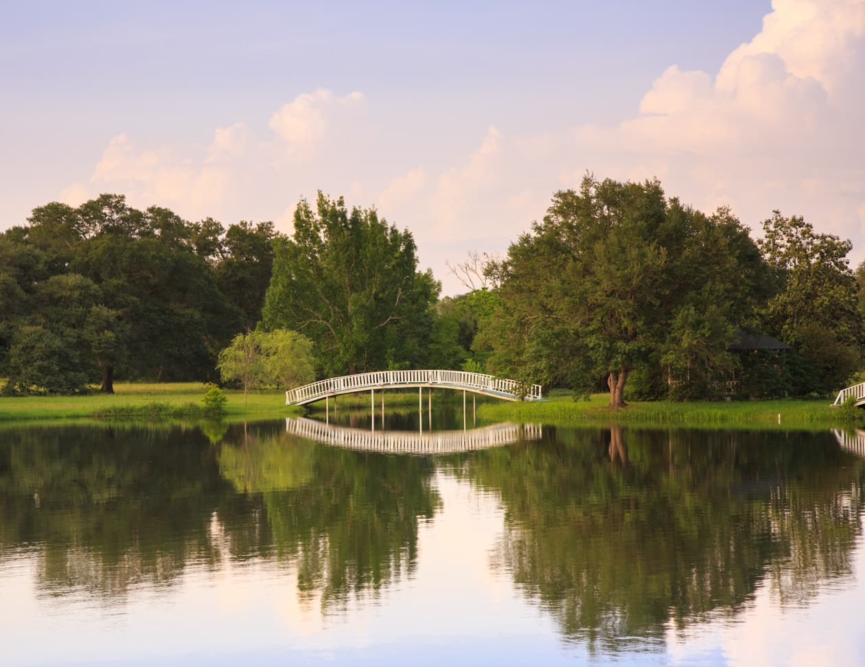 Bridge at the Enchanted Lake