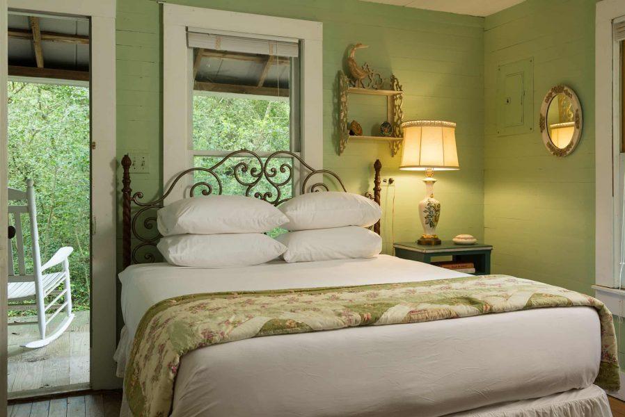 a bedroom at the bluebonnet bungalow