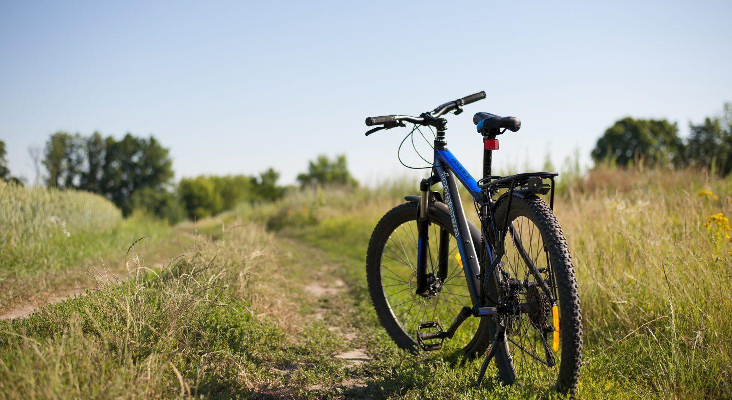 A Bike in a Field - Texas Biking Getaway